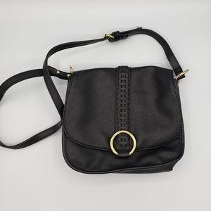 Olivia + Joy black crossbody shoulder bag purse